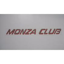 Adesivo Monza Club P/ Chevrolet Monza Club 91/... - Bre