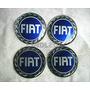65mm Emblemas Centro Rodas Az Fiat Palio Marea Tempra Siena
