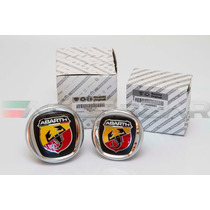 Kit Emblemas Abarth P/ Fiat Novo Punto ( Frete Grátis )