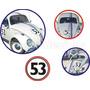 Adesivos Fusca Herbie 53 + Frete Grátis
