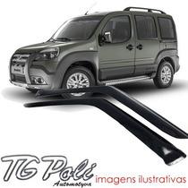 Calha Defletor De Chuva Fiat Doblo 01/14 Tg Poli