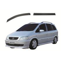 Defletor Chuva Para Chevrolet Zafira 01/12 4 Portas Tg Poli