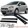 Calha Defletor De Chuva Fiat Punto 08/15 - 4 Portas Tg Poli