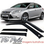 Calha Defletor Chuva New Focus Sedan Hatch 2014 /... Tg Poli