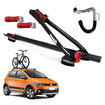 Suporte De Teto Bicicleta Velox Eqmax Carro 1 Bike + Gancho