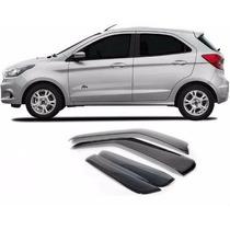 Calha De Chuva Novo Ford Ka Hatch 2014 -4-portas