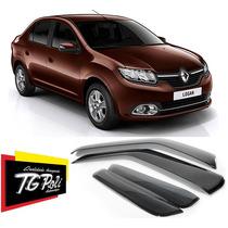 Calha Defletor De Chuva Novo Renault Logan 2014 Tgpoli