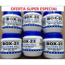 Silicone Gel Box 21 Carros Plásticos Couro - Super Oferta