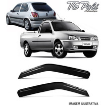 Calha De Chuva Courier Fiesta Hatch 96/13 Tg Poli 2p 21007