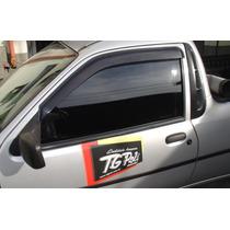 Jogo 2 Calhas De Chuva Ford Fiesta Hatch 96 Até 2001 Courie