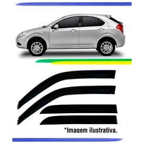 Calha De Chuva Jac Motors J3 Hatch Com Garantia - Fumê