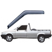 Calha Defletor Chuva Fiat Fiorino 1989 A 2013 2 Portas #