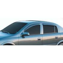Jogo 4 Calhas De Chuva Chevrolet Astra Sedan 99 Até 2011 4p