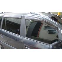 Jogo 4 Calhas De Chuva Chevrolet Zafira 2001 Até 2012 4p