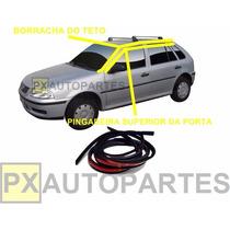 Friso Teto Borracha + Pingadeira Volkswagen Gol G3 G4 99-14