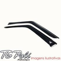 Calha Defletor De Chuva Fiat Fiorino 89/13 Tg Poli