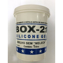 Silicone Gel Para Carros Plásticos Couro - Pote 900ml