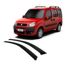 Calha De Chuva Doblo Todos 02 Portas Fiat - 8066c