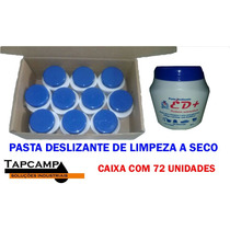 Caixa 72 Unidades - Pasta Deslizante Para Limpeza A Seco
