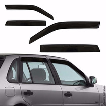 Calha Defletor D Chuva 4 Pts Fiesta Hatch Sedan 2010 A 2013