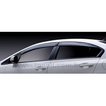 Jogo 4 Calhas De Chuva Honda Civic 2012 4p
