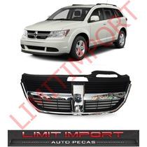 Grade Dianteira Dodge Journey 2008 2009 2010 2011 Cromado