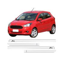Jgo Friso Lateral Personalizado Cromado Ford Ka 2015