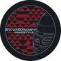 Capa Estepe Nova Ecosport Freestyle Vermelho Com Prata Cc607
