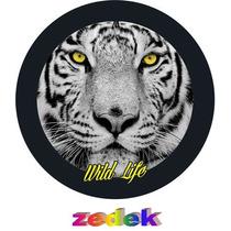 Capa Roda Estepe Pajero Tr4- Wild Life- Vida Selvagem- Tigre