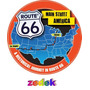 Capa Roda Estepe Jimny 4all E 4sun - Route 66 - Rota 66