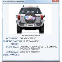 Capa Vinil Step / Estepe Ecosport Original Ford