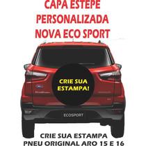 Capa Estepe Personalizada Para Pneu Original, Nova Ecosport