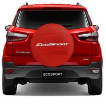 Capa Estepe Ecosport 2013 A2015 Nova Rigida Vermelho Cadeado