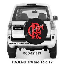 Capa Estepe Pajero Tr4, Pneu Orig Aro16e17, Flamengo, 121213