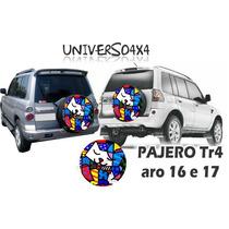 Capa Estepe Pajero Tr4, Pneu Original, Romero Britto Gato, 2