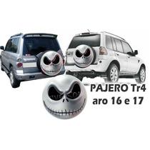Capa Estepe Pajero Tr4, Pneu Original Smile, Jack, Caveira,4