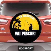 Capa Estepe Ecosport Aro 13 A 15 Cabo Cadeado - Vai Pescar