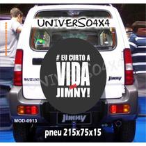 Capa Estepe Jimny, Pneu 215x75x15, Eu Curto A Vida Num Jimny