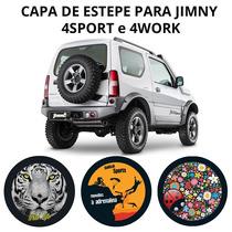 Capa De Estepe Suzuki Jimny 4sport E 4work - 215/ 75 Aro 15