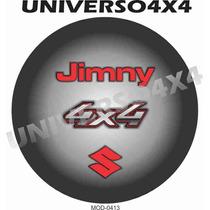 Capa Estepe Jimny, Suzuki, Couro Sint, Pneu 205x70x15, M0413
