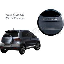 Capa Estepe Novo Crossfox 2015 2016 Cinza Platinum