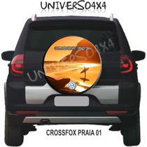Capa Estepe Crossfox, Volkswagen, Grátis Cabo+cadeado, Praia