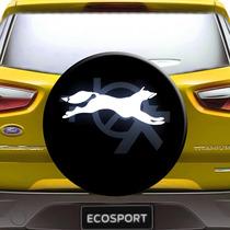 Capa Estepe Ecosport Crossfox Raposa Aro 13 A 15 Com Cadeado