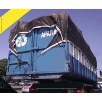 Lona Tela Preta Proteção Caminhão Caçamba Apara Preta 5 X 3