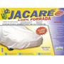 Capa P/ Carro Jacaré 100% Forrada 100% Impermeável + Cadeado