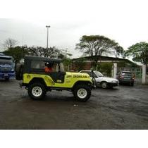 Capota Alta Jeep Willys - Cortinas Laterais 51 Em Diante