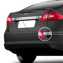 Friso Cromado Traseiro Inox New Fiesta Sedan 3r Acessórios