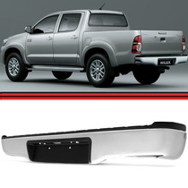 Parachoque Traseiro Hilux 05 06 07 08 09 14 Pick Up Sr Srv