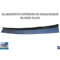 Gm Blazer 96/00 Acabamento Sup Parachoque Orig 93233157