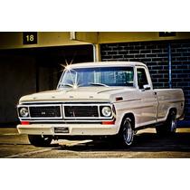 Grade Para F100 Ou F1000 1973 Á 1986 Em Alumínio